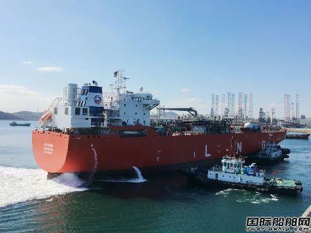 大连中远海运重工首制LNG船诞生之路