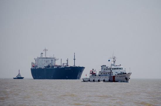 上海海事开辟绿色通道保障8万方LNG船优先抵沪