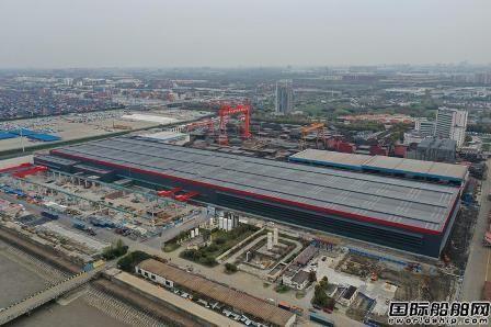 外高桥造船邮轮薄板中心项目有序推进
