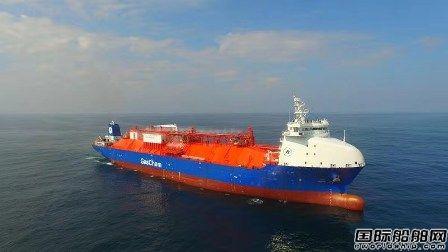 中集太平洋海工获全球首批双燃料全压式LPG船订单