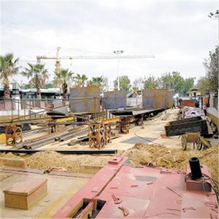 云南首艘大型双体纯电客船在昆开建