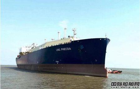 沪东中华YAMAL LNG项目3号船常规试航凯旋