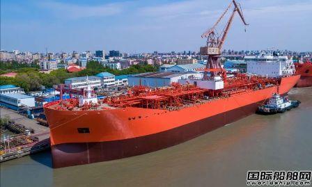 沪东中华3.8万吨化学品船首制船完成两大节点