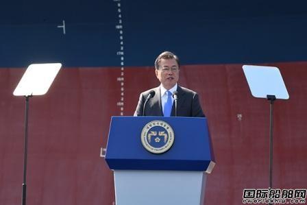 """韩国出台""""维稳""""措施巨资援助造船业"""