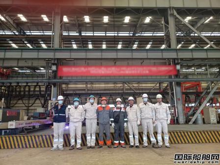 南通中远海运船务M020割板开工M012成功交付