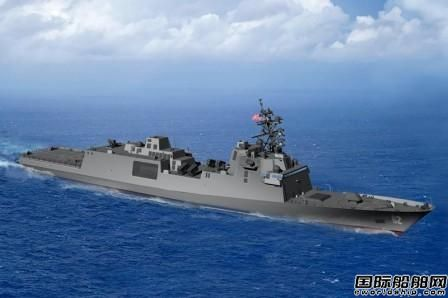 Fincantieri接获美海军56亿美元导弹护卫舰订单