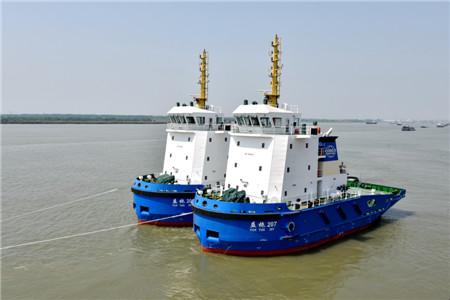 镇江船厂几内亚铝土矿项目11艘船全部顺利交付