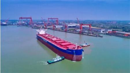 扬州中远海运重工获国银租赁3艘21万吨散货船订单