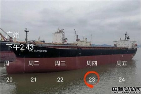 广东中远海运重工修理完工24艘单月产值再创新
