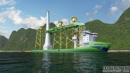 台船接单将自主建造台湾首艘大型风电安装船