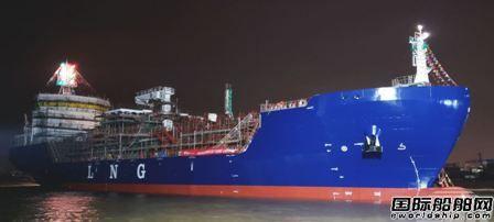南通吉宝船厂为Avenir LNG建造第二艘LNG船下水