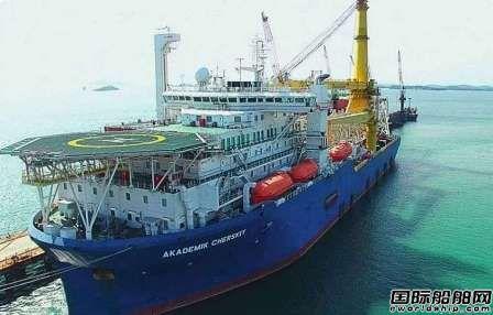 """俄罗斯自有铺管船抵达波罗的海将完成""""北溪2号""""项目"""