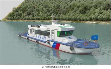 浙江风神直翼舵桨推进装置完成船舶水池试验