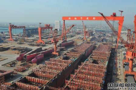 中国船企单月订单再超韩国位居全球首位
