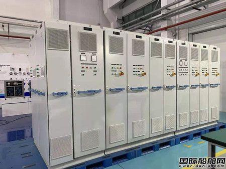 赛思亿为雄程天威001号风电运维船配套直流组网系统