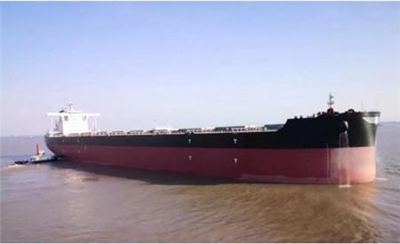 外高桥造船与国银租赁签署3艘21万吨散货船合同