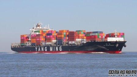 """阳明海运""""维明""""轮大陆船员发热船长发布求救信"""