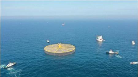 "DNV GL助力中国首座深远海大型渔场""海峡1号""浮卸及系泊安装"