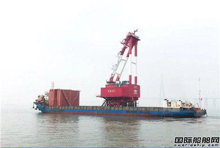 南通振华龙源振华2500吨起重机回转底盘顺利发运