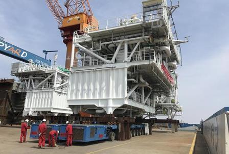 瓦锡兰完成交付中国首艘LNG FSRU 再气化模块