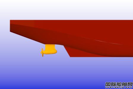 外高桥造船成功开发10万吨级双向破冰油船DAT线型
