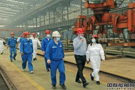 扬帆集团18000吨成品油化学品船开工建造