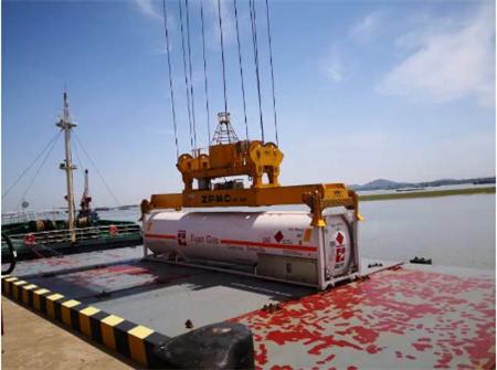 老虎燃气和马石油签署中国首份罐箱LNG长约