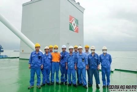 广船国际完成4.88万吨化学品成品油船系列船最快试航