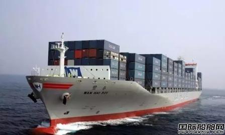 万海航运4月营收同比减少11%