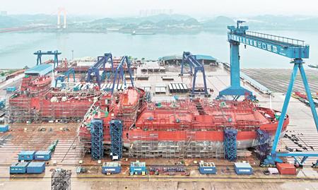 宜昌达门船舶海外造船订单排至年底