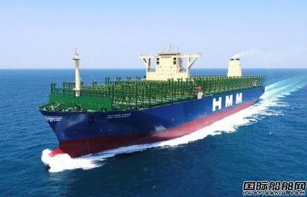 大宇造船交付全球最大智能集装箱船