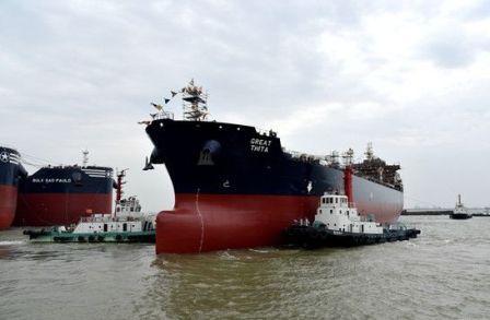 新时代造船保交船生产进入全力加速期
