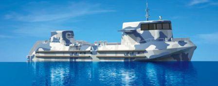 凯力船艇一艘全铝合金半潜观光船开工