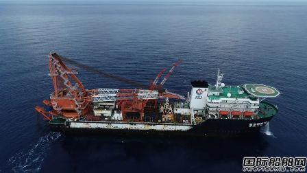 """1532米!""""海油石油201""""号刷新国内海管铺设新纪录"""