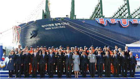 帕纳希亚压载水处理系统装上世界最大集装箱船