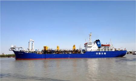 """上海中远海运重工""""航浚4009""""轮顺利完工"""