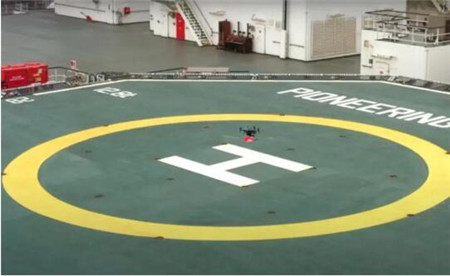 鹿特丹港开始使用无人机为船只提供服务