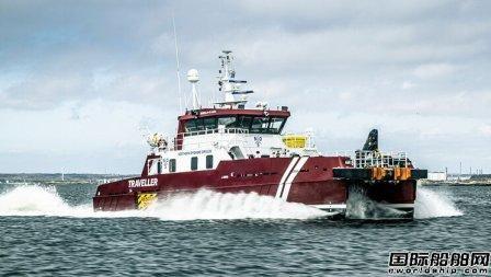 沃尔沃遍达远程为一艘人员运送船提供动力升级