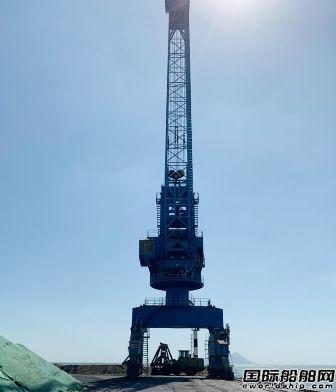 微特技术研制青岛大湾港门机力矩限制器项目完成验收