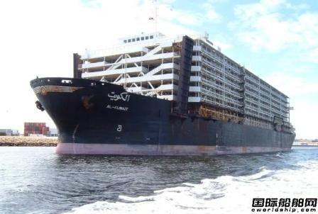 一艘牲畜运输船爆发疫情6人已确诊滞留澳大利亚