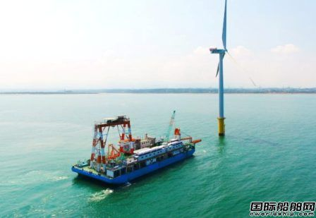 Longitude接获台湾船东海上风场铺缆船设计合同