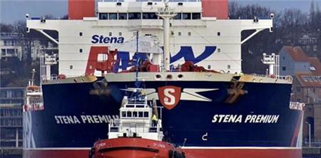 """""""Stena Premium""""轮12名船员确诊滞留港口30天"""