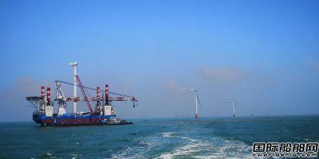 国电投集团首艘海上风电安装船完成交接