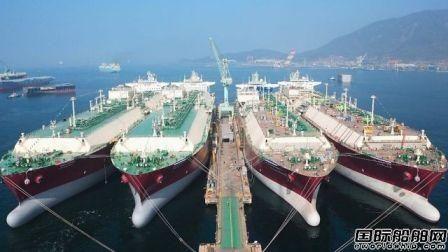 WE TECH方案获韩国船厂14艘LNG船配套订单