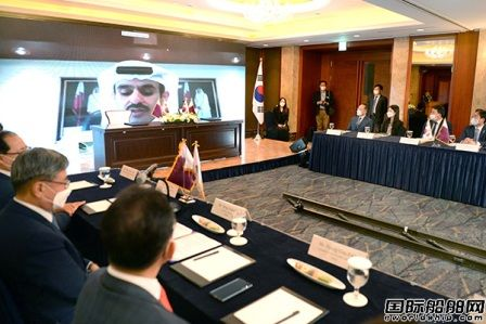 100艘LNG船!韩国船企获卡塔尔192亿美元大单