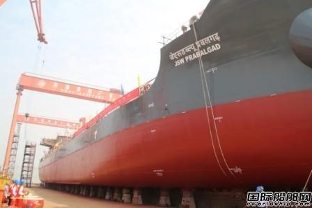 芜湖造船两艘8000吨散货船完成两大节点