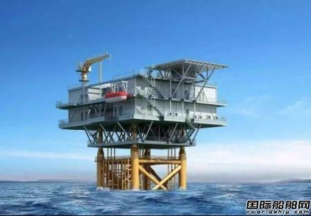 厦船重工中标海上风电场海上升压站建造及安装项目