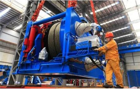 振华重工绞车助力创造我国海底管线铺设水深新纪录