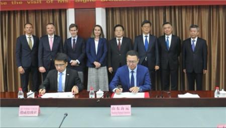 山东海洋集团和DNV GL签署协议后者地区总部落户青岛