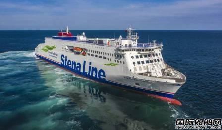Stena Line提前10年达成航运业减排目标